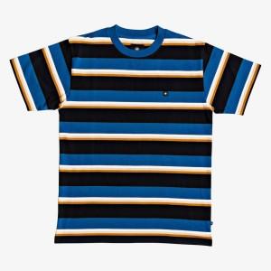 DC - Wesley Stripes Tee - Blue
