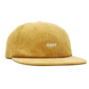 Obey - Column 6 Panel Strapback - Ecru