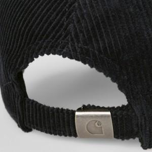 Carhartt - Harlem Corduroy Cap - Black