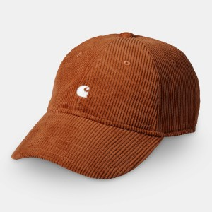 Carhartt - Harlem Corduroy Cap - Brandy