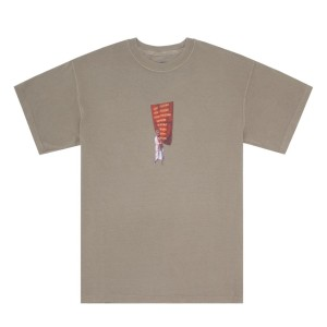 Fucking Awesome - West Of Rome Pig. Dyed Tee - Khaki