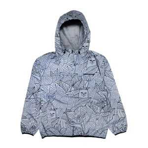 Ripndip - Nermal Leaf Reflective Anorak Jacket