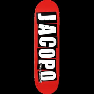 Baker - Jacopo Carozzi Logo Deck - 8.25