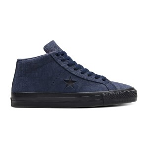 Converse Cons - One Star Pro Mid - Obsidian / Hyper Pink