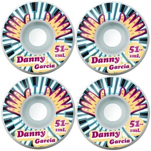 Small Wheels - Classics Danny Garcia Piano Hands - 51mm