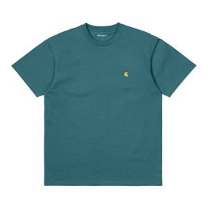Carhartt WIP - Chase T-Shirt - Deep Lagoon
