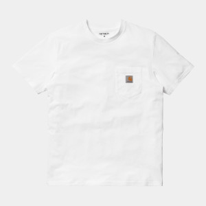 Carhartt WIP - Pocket T-Shirt - White