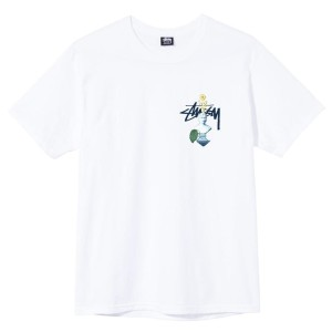Stussy - Psychedelic Tee - White