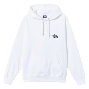 Stussy - Basic Hood - White