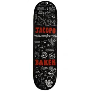 Baker - Jacopo Carozzi Logo Deck - 8.5