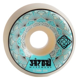 Satori - Mandala Blue 101A Wheels - 53.5mm