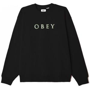 Obey - Nouvelle Crewneck - Black