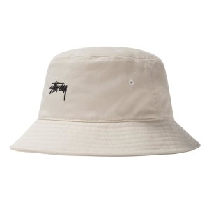 Stussy - Stock Bucket Hat - Natural