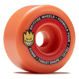 Spitfire - Tablet Neon Orange Wheels - 53mm