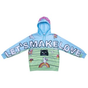 Ripndip - Let's Make Love Hoodie - Multi