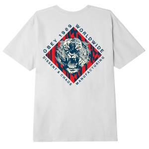 Obey - Dissent & Chaos Tee - White