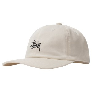 Stussy - Stock Low Pro Cap - Natural