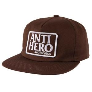 Antihero - Reserve Patch Cap - Brown