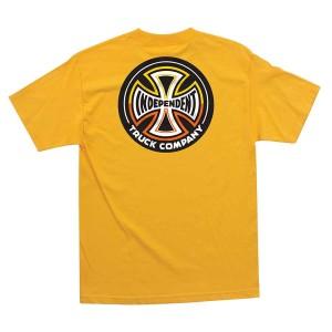 Independent - Split Cross Tee - Gold