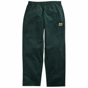 Krooked - Eyes Embroidery Pant - Dark Green