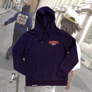 Skateboarding's Finest - Kids In The Streets Hoodie - Navy Blue