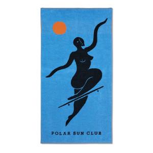 Polar - No Complies Forever Beach Towel - Blue