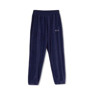 Polar - Velour Sweatpants - Rich Navy