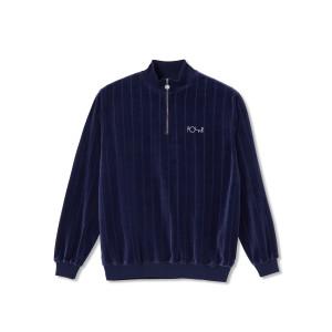 Polar - Velour Sweatshirt - Rich Navy